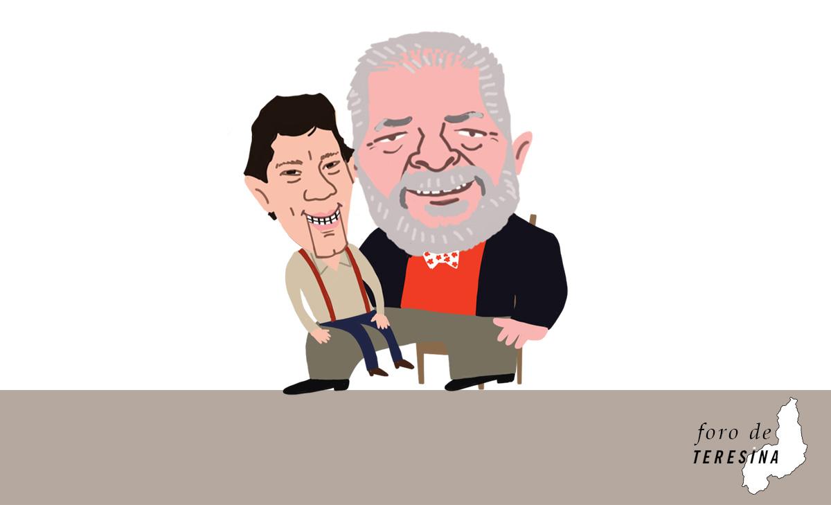 Escalado como substituto de Lula, Haddad é prisioneiro da estratégia do ex-presidente de esticar a candidatura até o último minuto