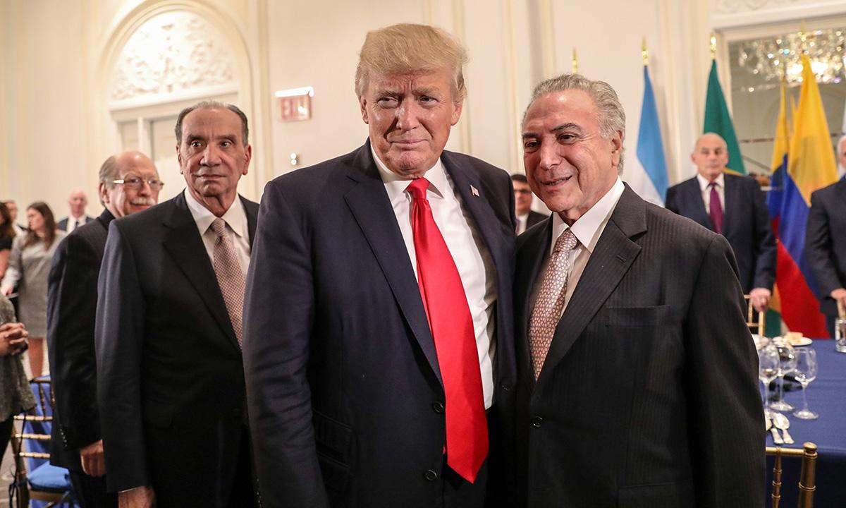 Trump passou a gostar dos mexicanos depois que conheceu o MDB