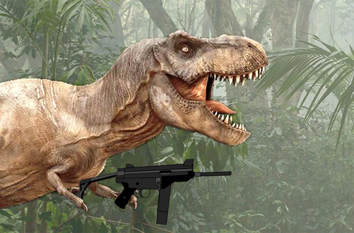 """""""No passado era bom porque não tinha dinossaura feminista"""", explicou Jair Brontossauro"""