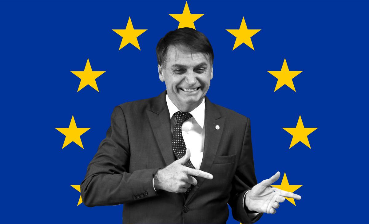 Alinhamento de Bolsonaro e Trump preocupa europeus