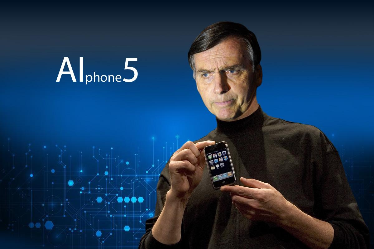Bolsojobs explicou que o toque do AI-Phone será uma rajada de metralhadora