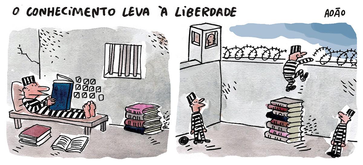 Cartuns de Adão Iturrusgarai