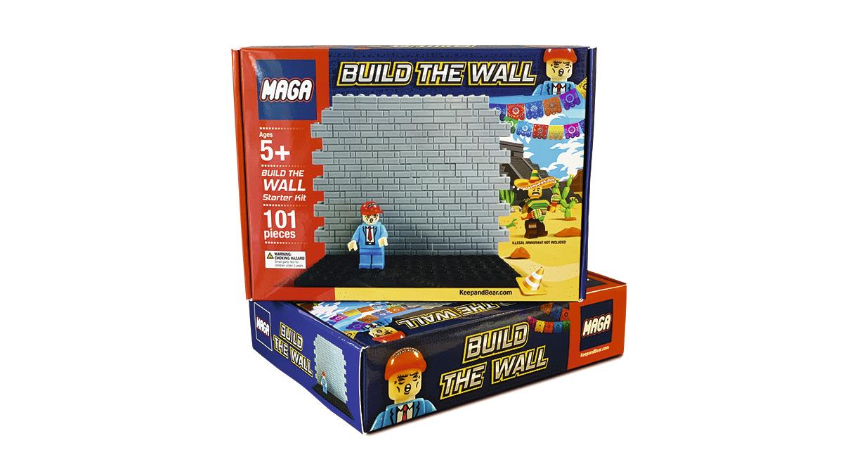 O produto foi lançado pela marca Maga, abreviatura do slogan <i>Make America Great Again</i>