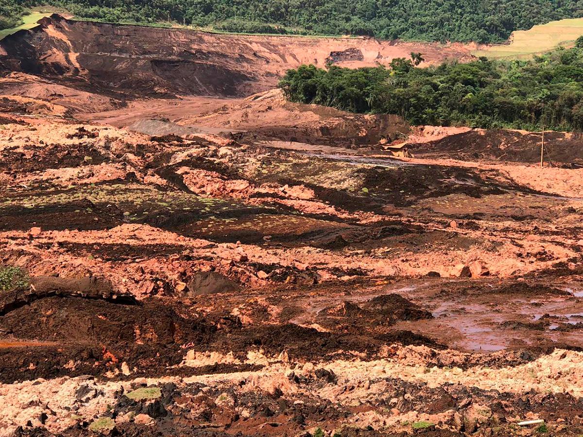 Barragem da mineradora Vale se rompeu em Brumadinho, na Grande Belo Horizonte, nesta sexta-feira