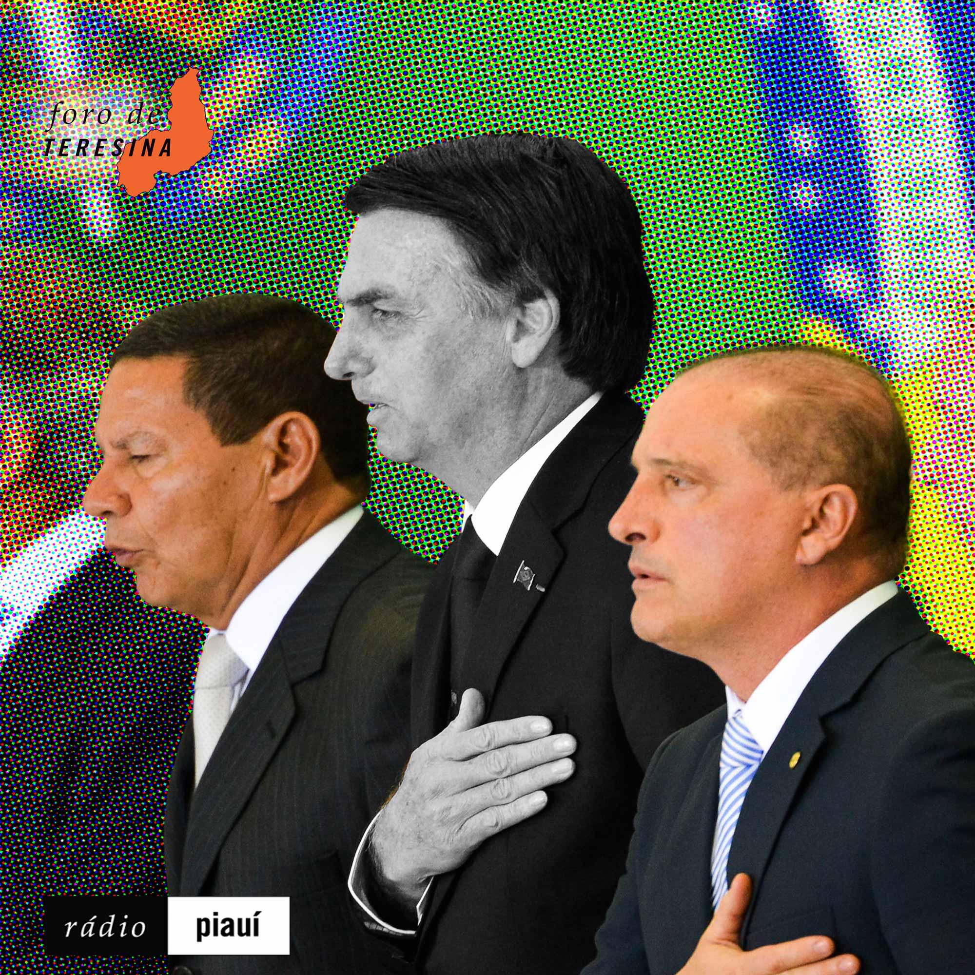 #34: O bate-cabeça de Bolsonaro, os novos escândalos do governo e a crise no Ceará