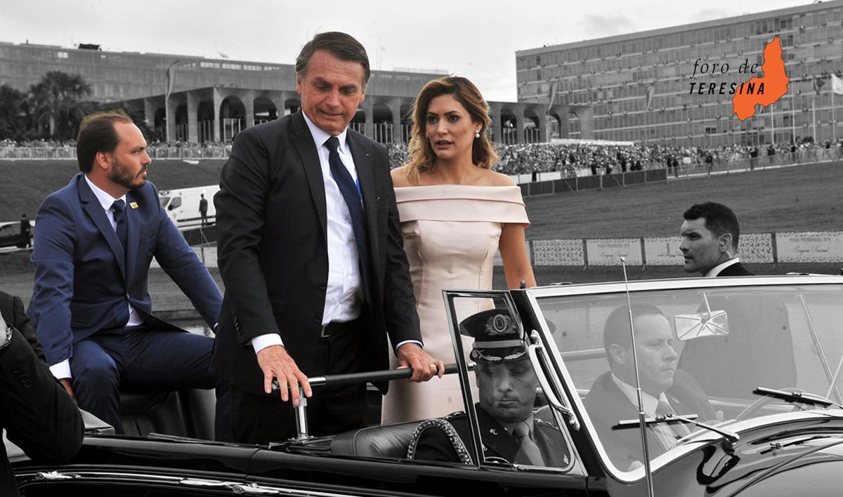 A cerimônia que levou Bolsonaro ao Planalto foi repleta de símbolos do que está por vir com o novo governo