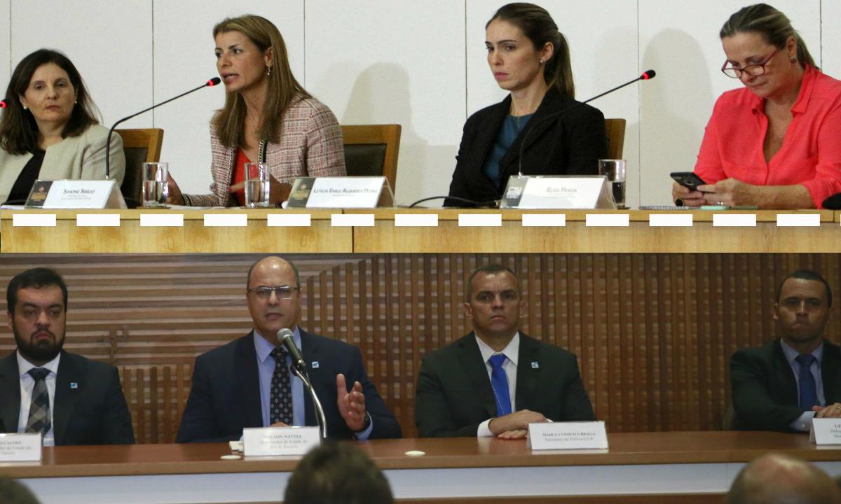 Intervenção em fotos de Tomaz Silva/Agência Brasil e Onofre Veras/Folhapress