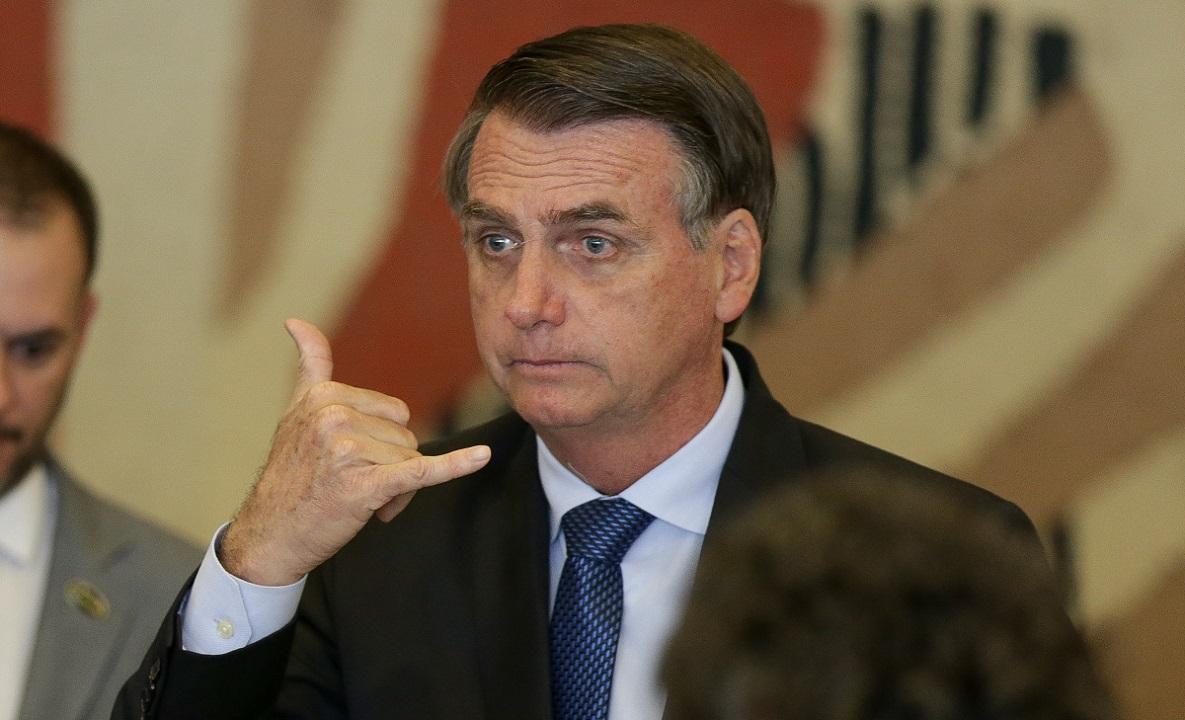 <b> A abstinência de internet fez com que Bolsonaro chegasse a acreditar que era Ronaldinho Gaúcho e MC Bin Laden </b>   FOTO: Pedro Ladeira/Folhapress