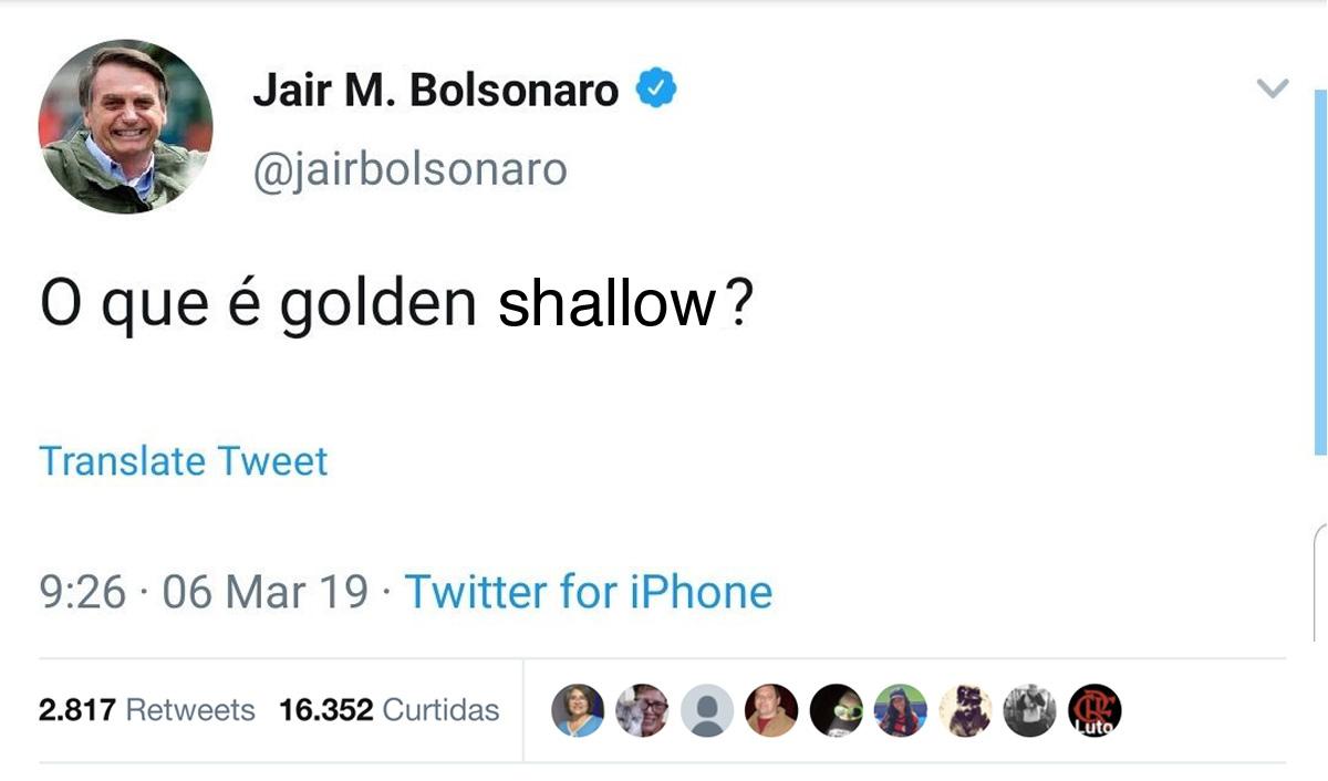 """Bolsonaro anunciou que o lema """"Brasil acima de tudo, Deus acima de todos"""" só voltará a ser usado quando o músico Lobão voltar a elogiar o governo"""
