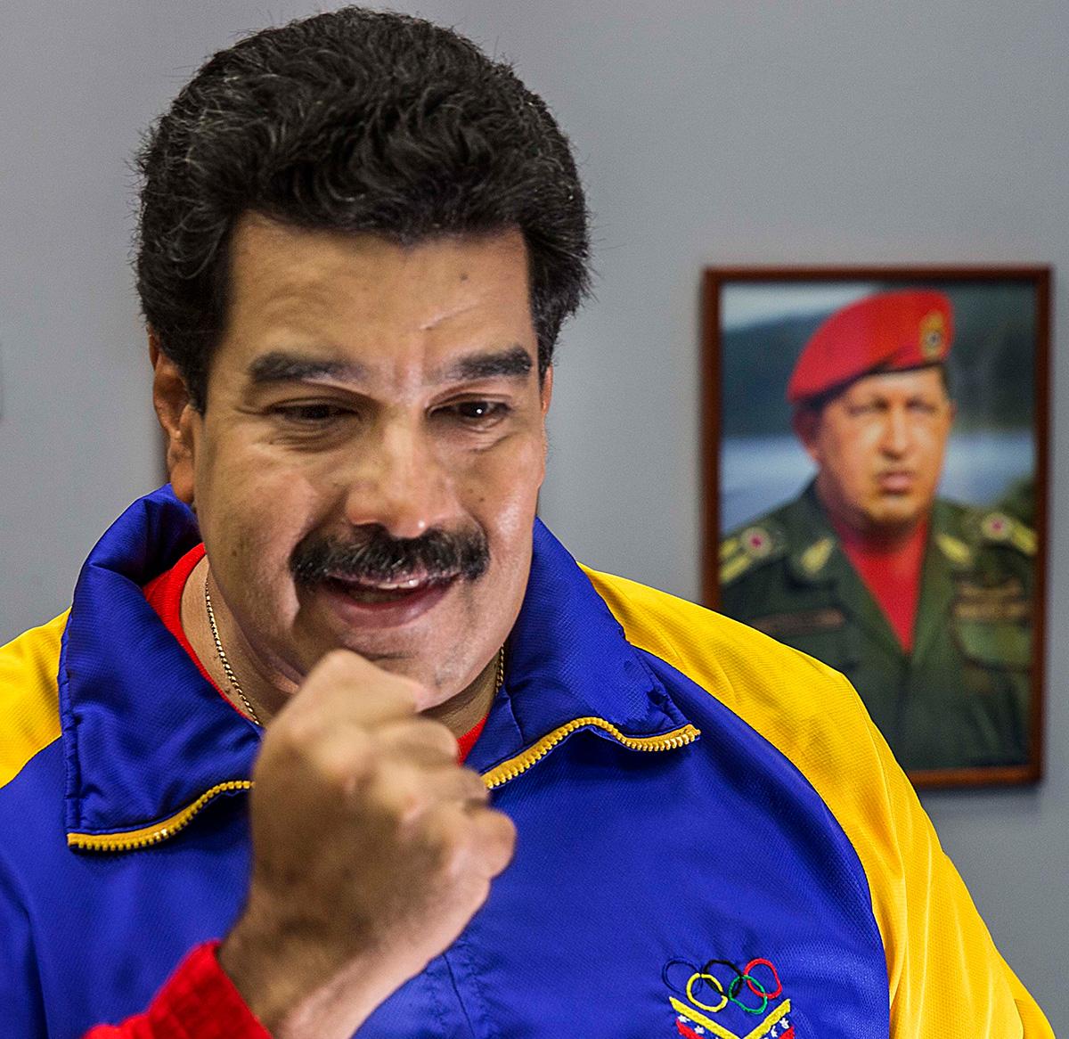 Maduro também será colocado num acelerador de partículas para testar até onde vai sua resistência no cargo