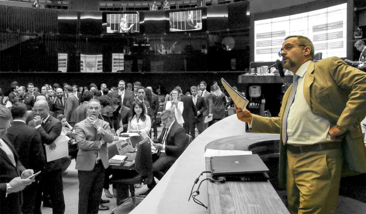 Weintraub em sessão na Câmara –