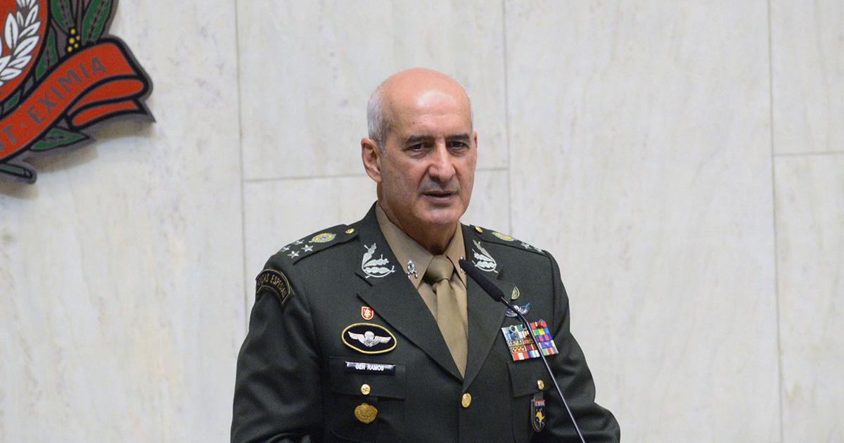 O GENERAL RAMOS, NOVO MINISTRO DA SECRETARIA DE GOVERNO