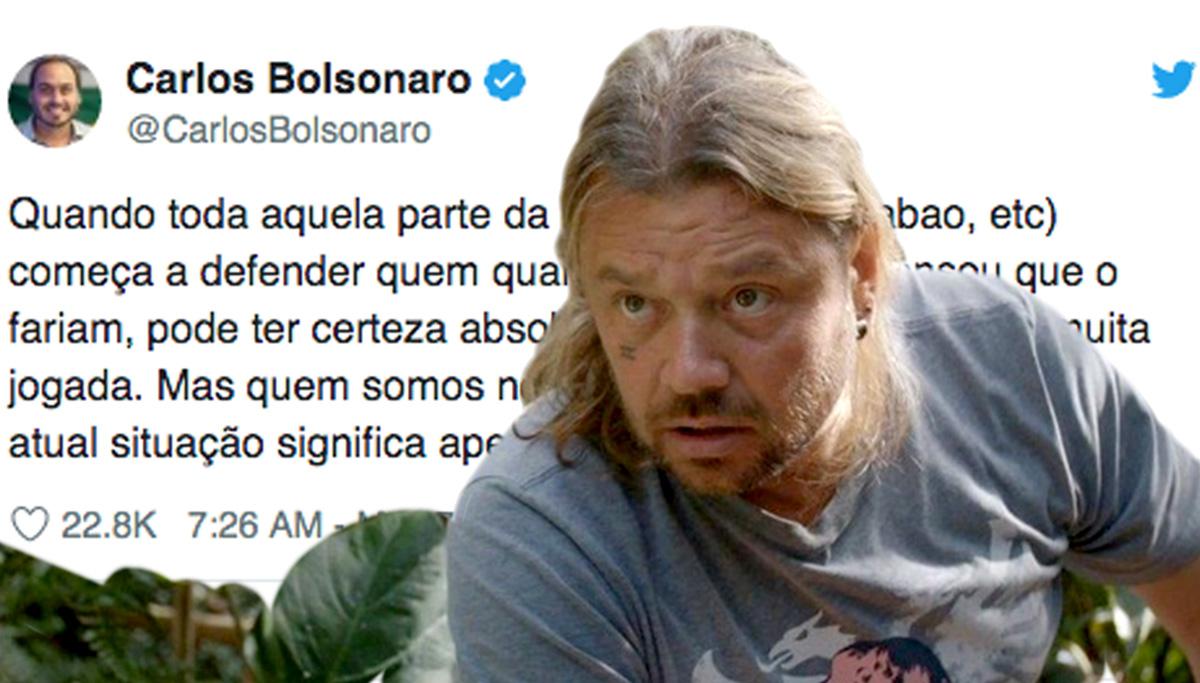 Uma equipe de 200 paramédicos ficará de plantão durante a aproximação entre Richard e o quarto do vereador Carlos Bolsonaro