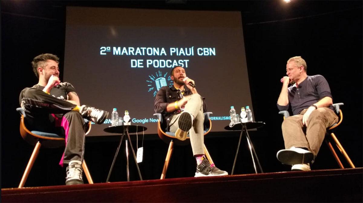 Mauricio Cid, Samir Duarte e o mediador Dan Stulbach