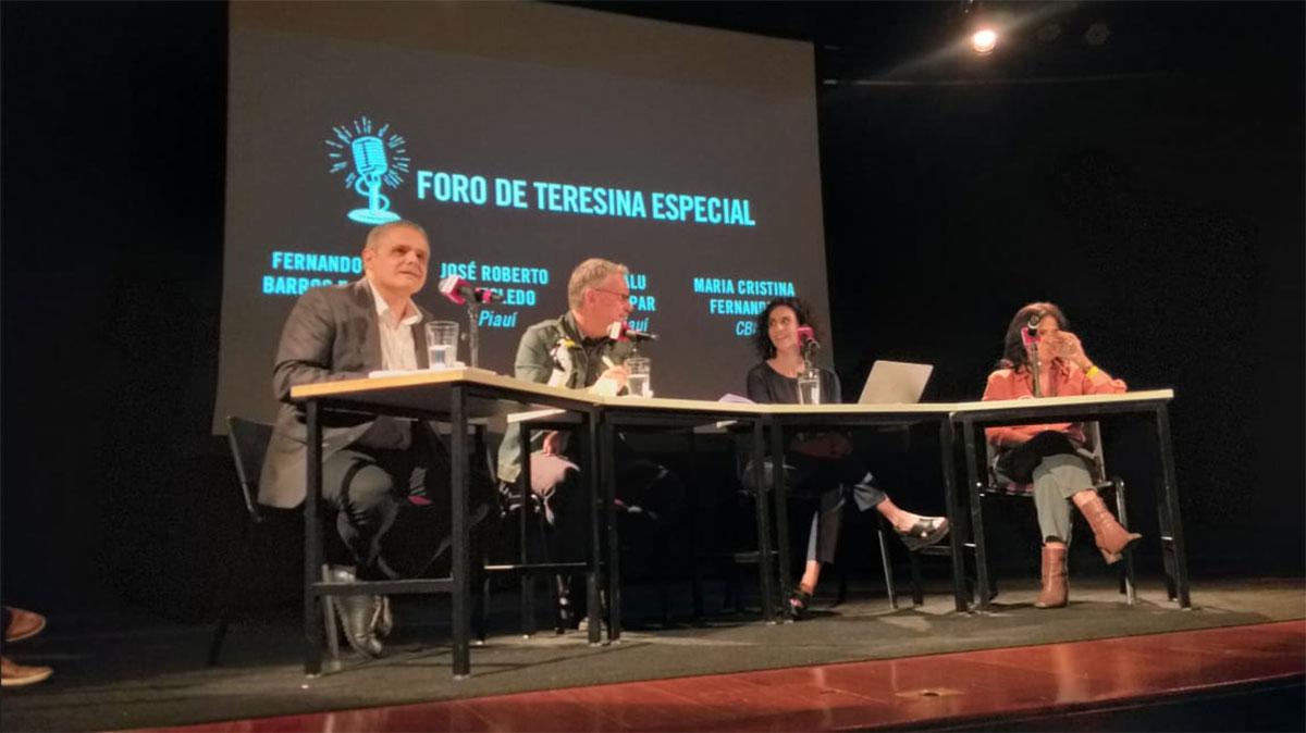Fernando de Barros e Silva, José Roberto de Toledo, Malu Gaspar e Maria Cristina Fernandes