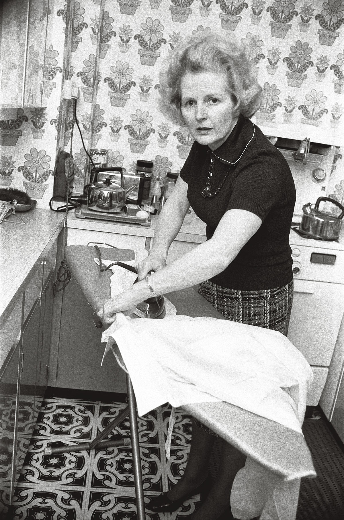"""""""Por que as feministas nunca citam Margareth Thatcher?"""", indagou o professor à plateia"""