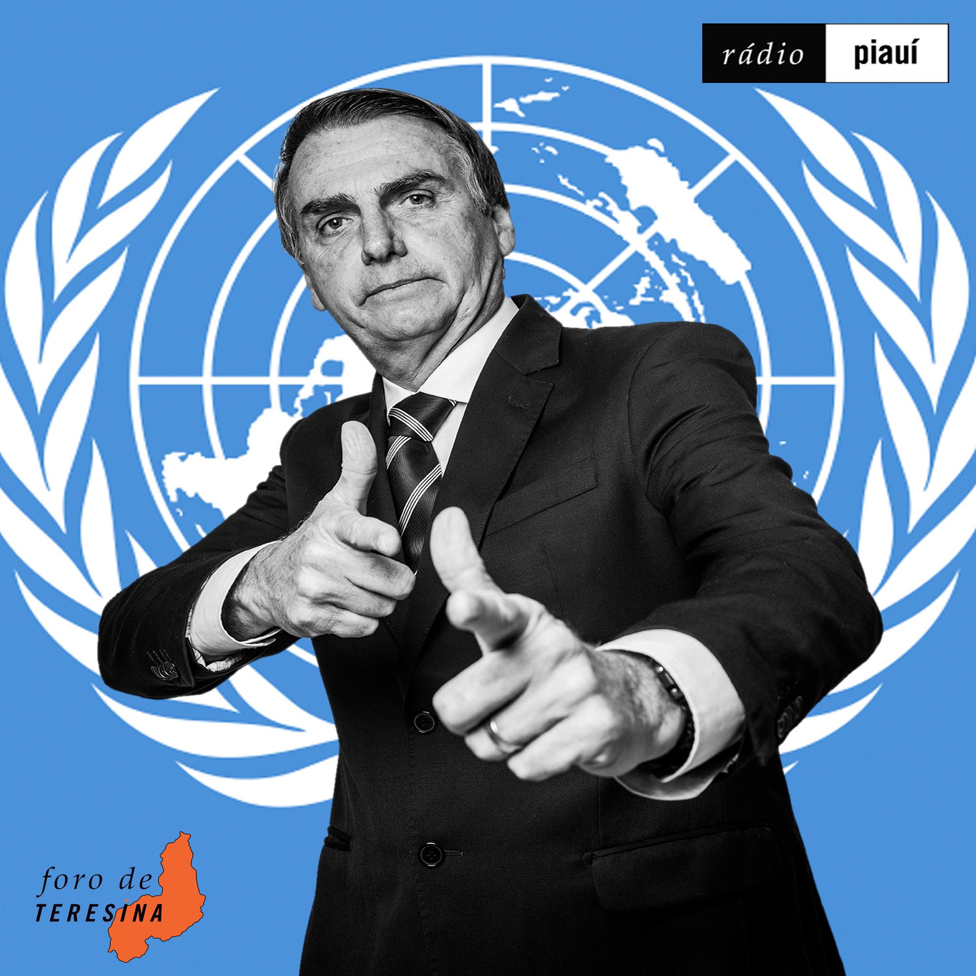 #70: Bolsonaro na ONU, o impeachment de Trump e a morte de Ágatha