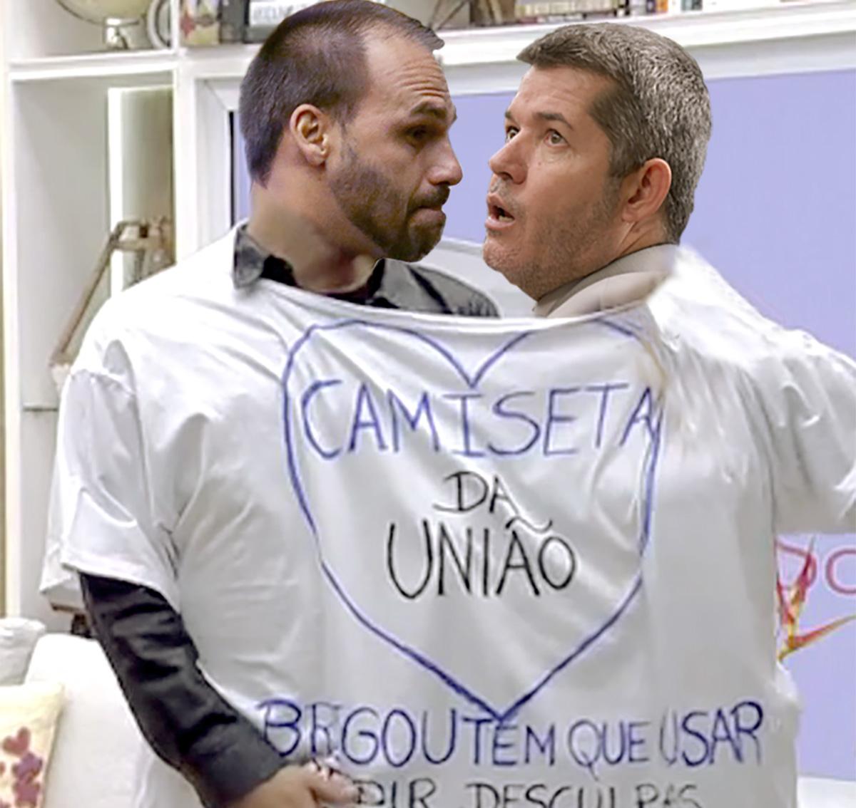 Jair Bolsonaro é o favorito ao Nobel da Física, por mostrar que dois deputados podem habitar o mesmo cargo ao mesmo tempo