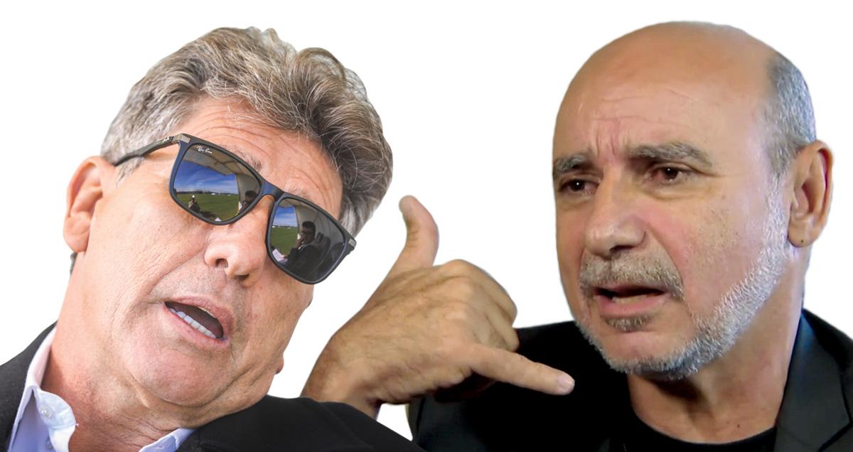 """""""Hoje tem gol do Coafgol"""", disse Queiroz ao treinador do Grêmio"""