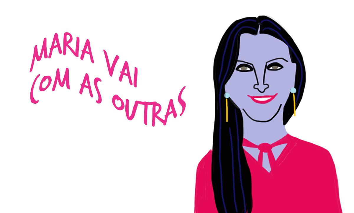 Márcia Rocha pelo traço de Caio Borges