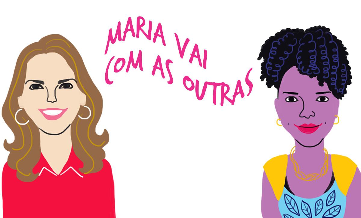 Fernanda e Emanuelle, pelo traço do ilustrador Caio Borges