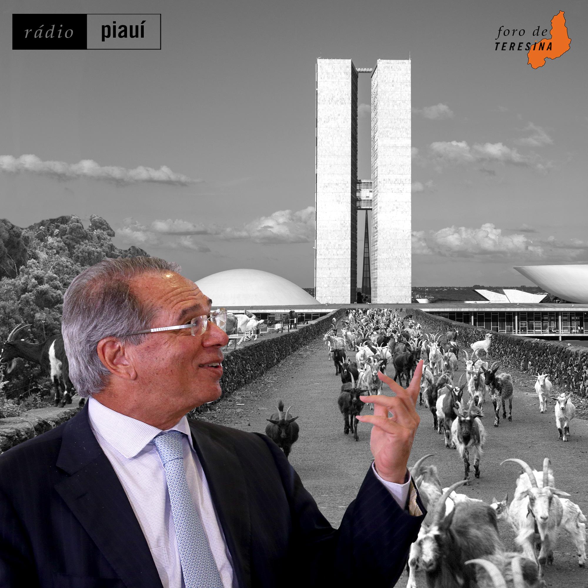 #76: O mistério da casa 58, o golpismo bolsonarista e o pacote de Paulo Guedes