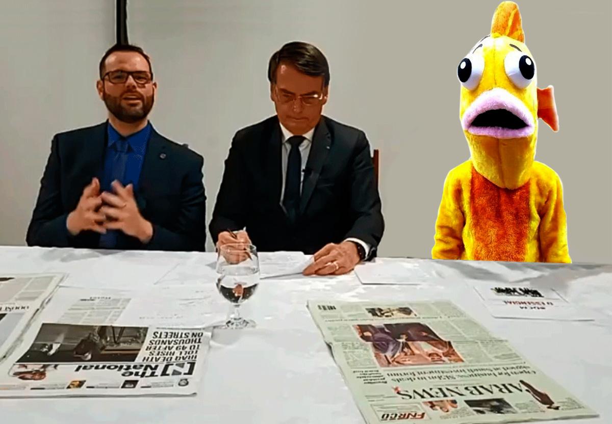 Analistas afirmam que o peixe já desempenha as mesmas funções que o atual Ministro do Meio Ambiente: nada