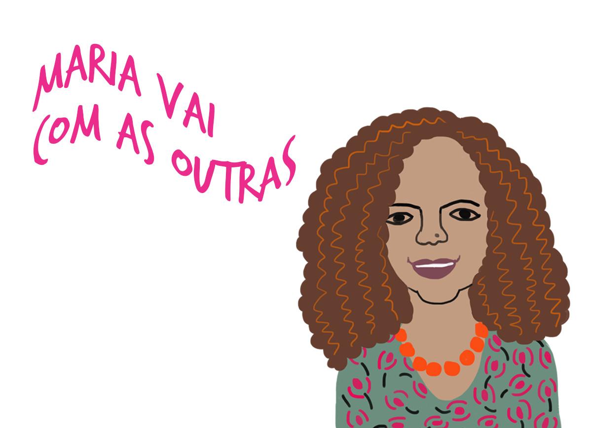 Márcia Lima, pelo traço do ilustrador Caio Borges