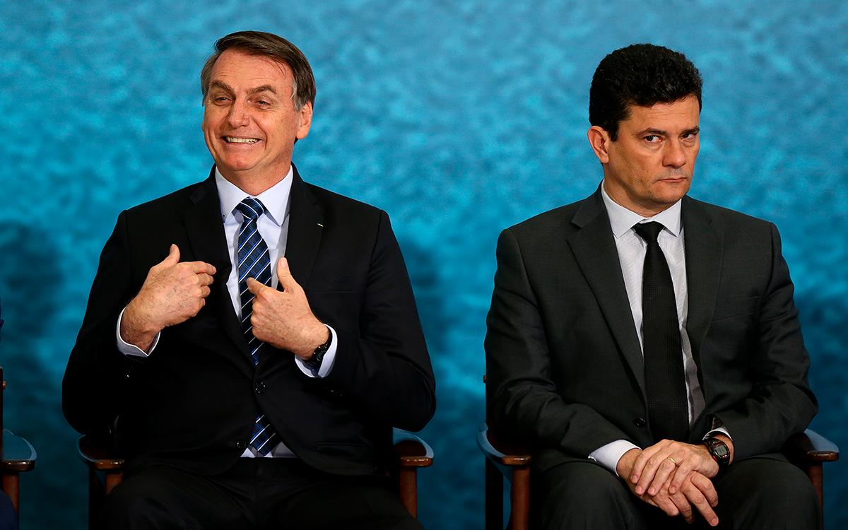 Bolsonaro teme que Moro requeira a posse da extrema direita por usucapião