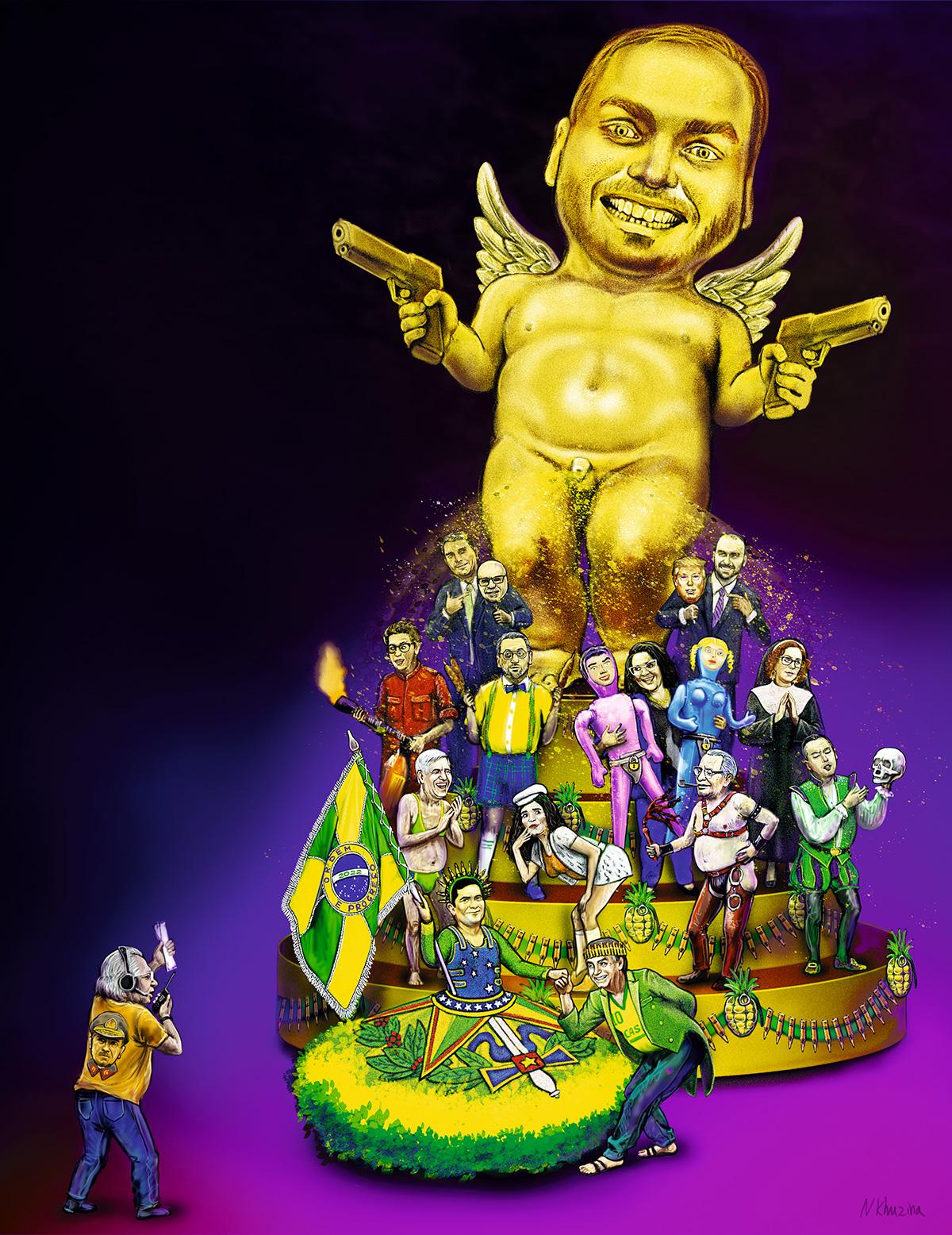 O <i>golden shower</i> do menino Carluxo