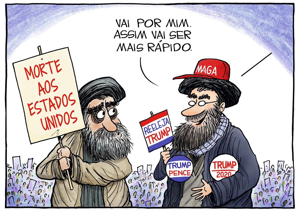 CRÉDITO: CHRISTOPHER WEYANT_CAGLE CARTOONS