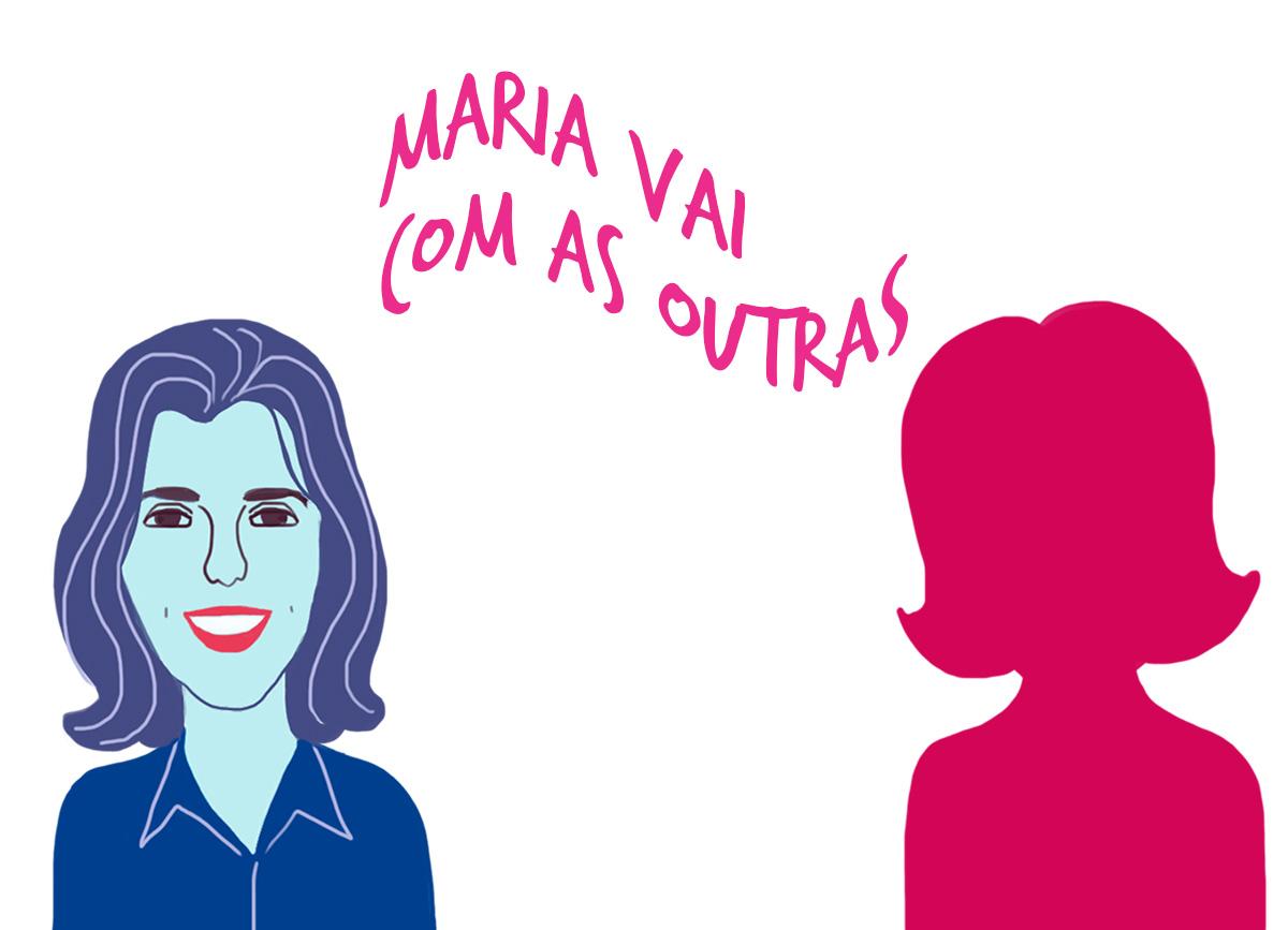 Juliana Reis e a silhueta de Arielle, pelo traço de Caio Borges