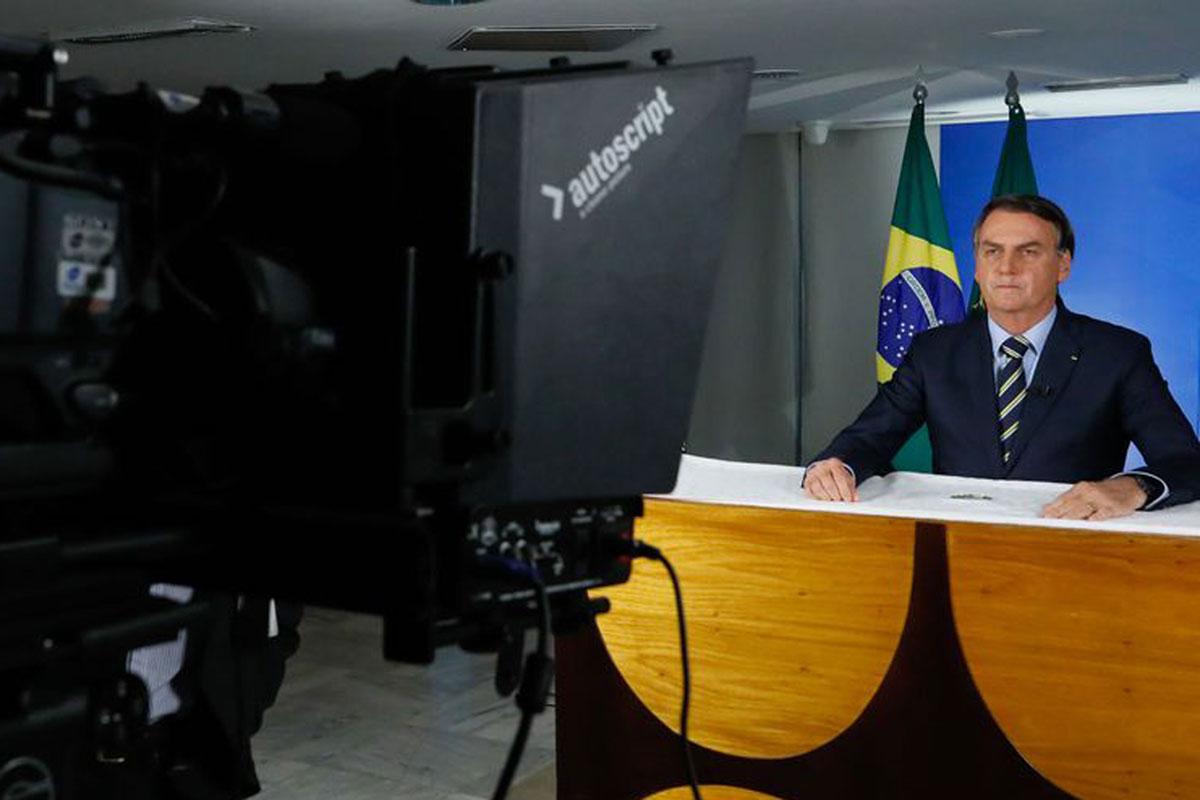 """Bolsonaro e o pronunciamento em que comparou o coronavírus a uma """"gripezinha"""""""