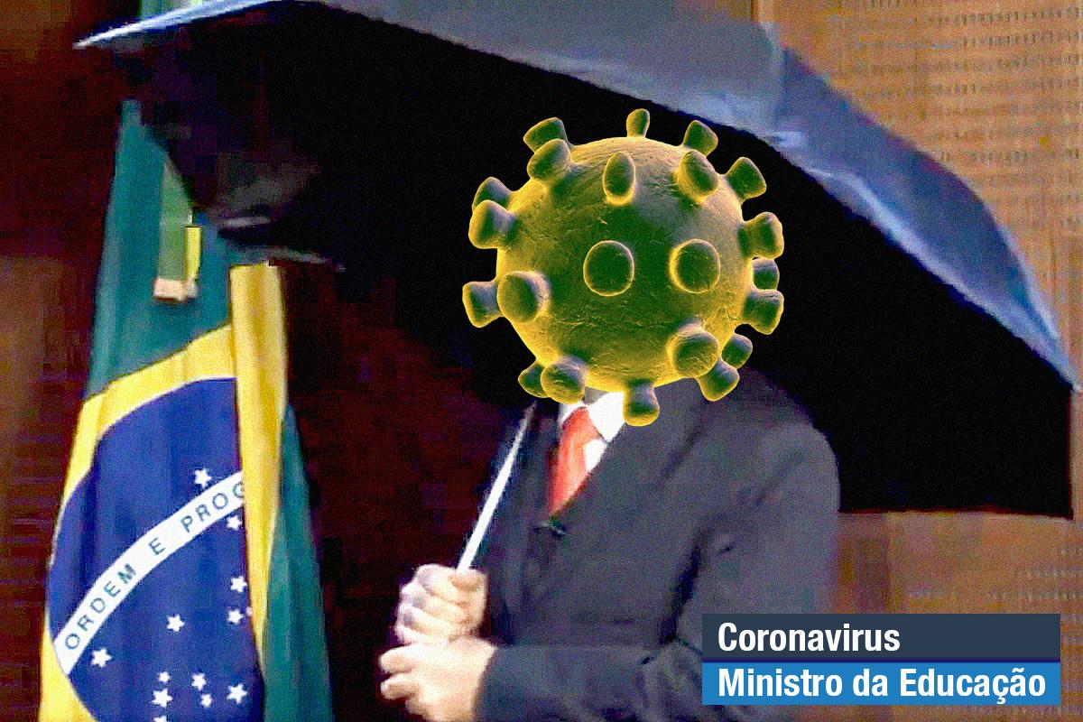 Conciliador, o coronavirus já começou a xingar Drauzio Varella no Twitter para dar continuidade à obra de Weintraub