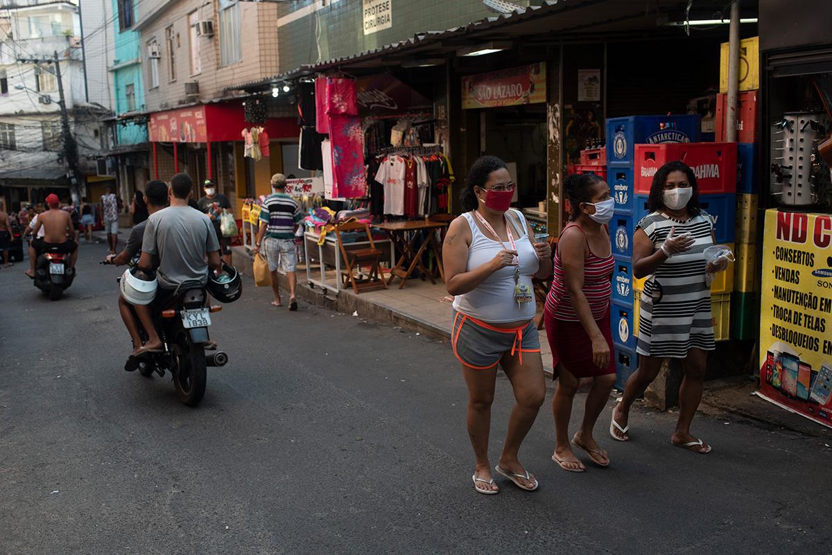 Movimentação de moradores da Rocinha –