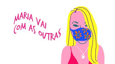 Monique Lopes, pelo traço do ilustrador Caio Borges