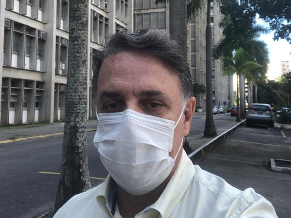Aloysio Fonseca, professor da Uerj / Foto: Acervo pessoal