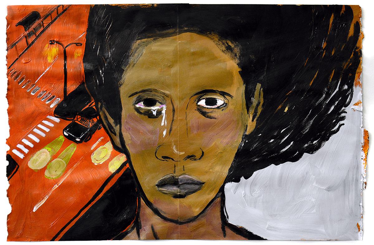 """""""Escolho usar minha voz para lhes pedir: chega, se importem de verdade com as vidas negras"""""""