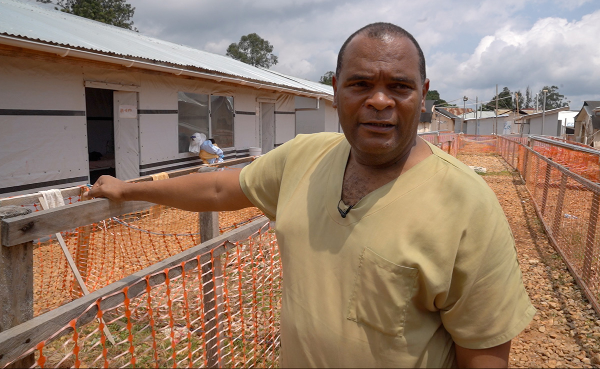 O médico cubano Lázaro Martinez, surto de ebola no congo
