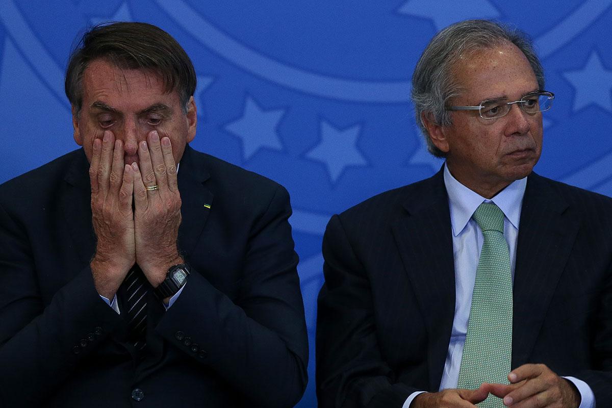Economia é a pedra no caminho de Bolsonaro