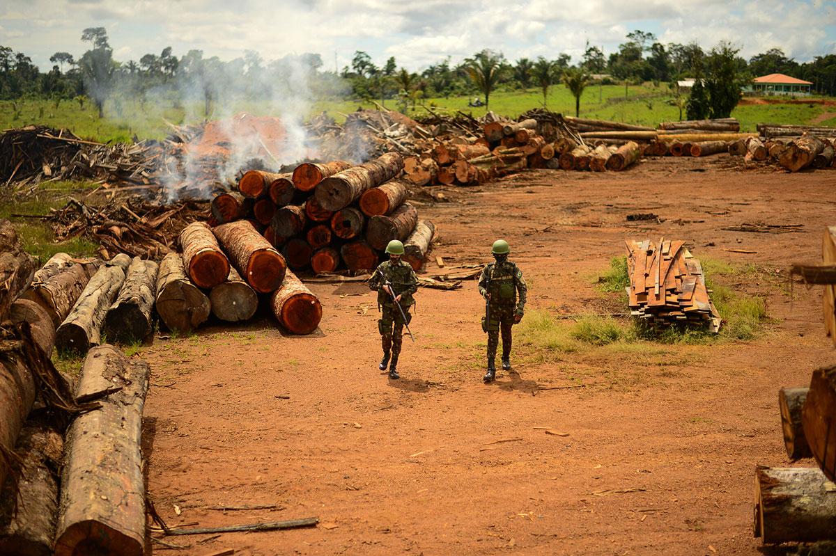 Militares na Operação Verde Brasil 2 –