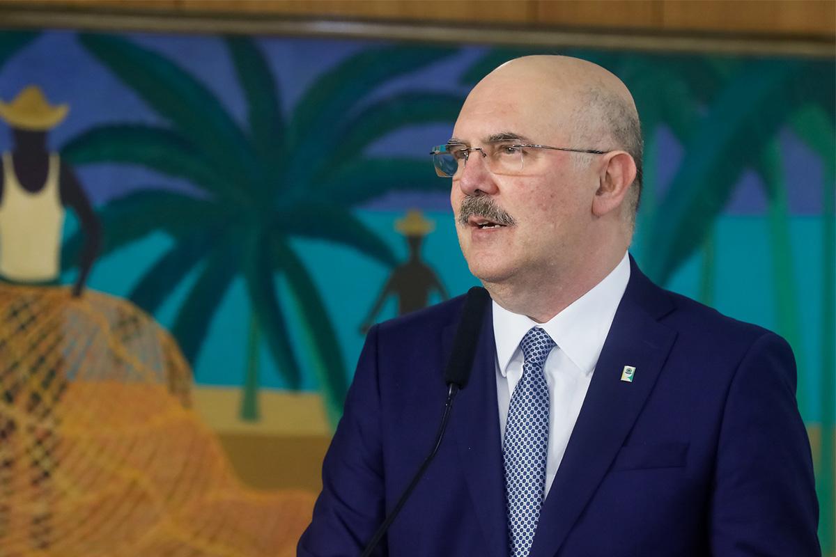 Milton Ribeiro, ministro da Educação –