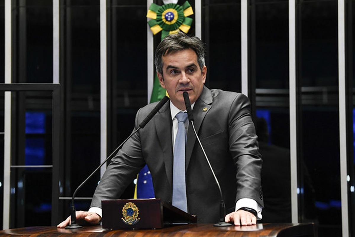Ciro Nogueira (PP-PI) em discurso no plenário do Senado Federal / Foto: Jefferson Rudy/Agência Senado