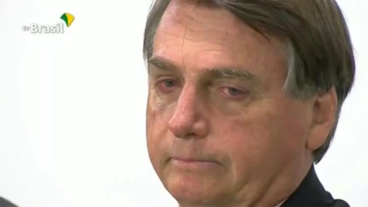 Bolsonaro ofereceu trazer Trump para o Brasil a bordo do Air Force Zero One, que faz o voo Boca Raton-Muzema