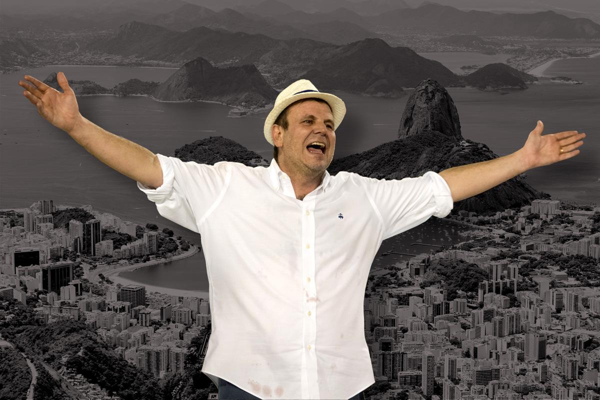 Eduardo Paes, prefeito eleito do Rio –