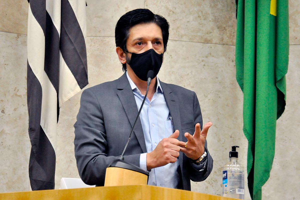Ricardo Nunes, candidato a vice de Bruno Covas –