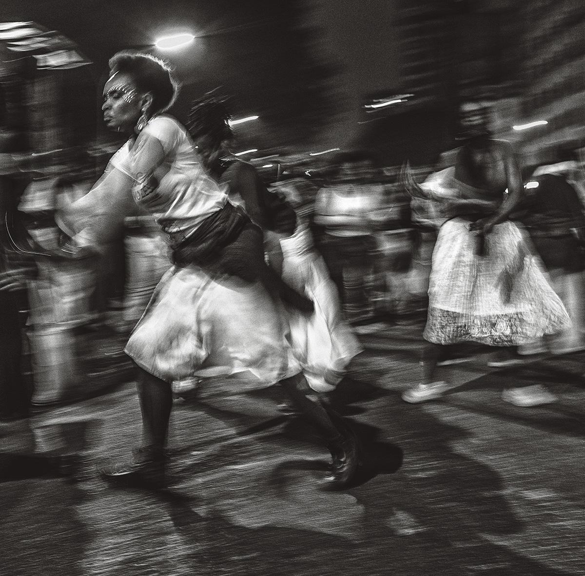 Marcha das mulheres negras, em São Paulo, 2019: a direita negra no Brasil está desconectada da população e tem visão limitada das mudanças sociais, impregnada de sectarismo religioso
