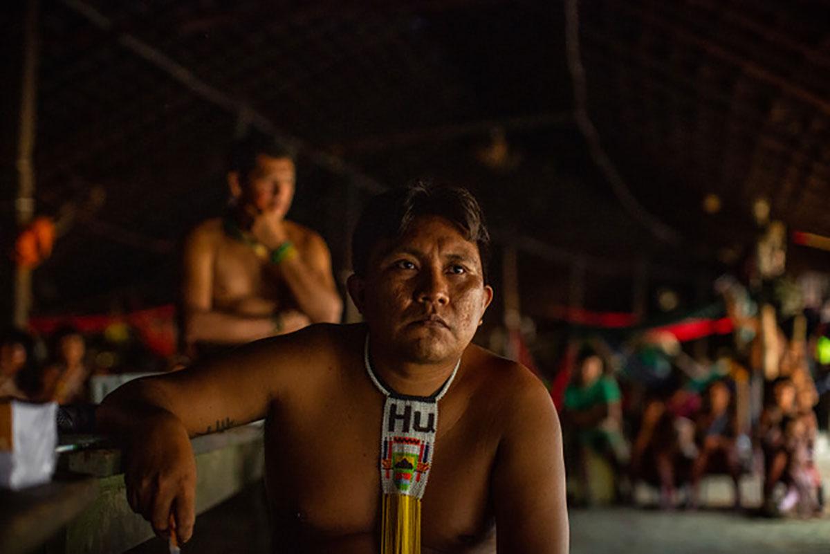 Dário Vitório Kopenawa Yanomami, vice-presidente da Hutukara Associação Yanoamami (HAY) –