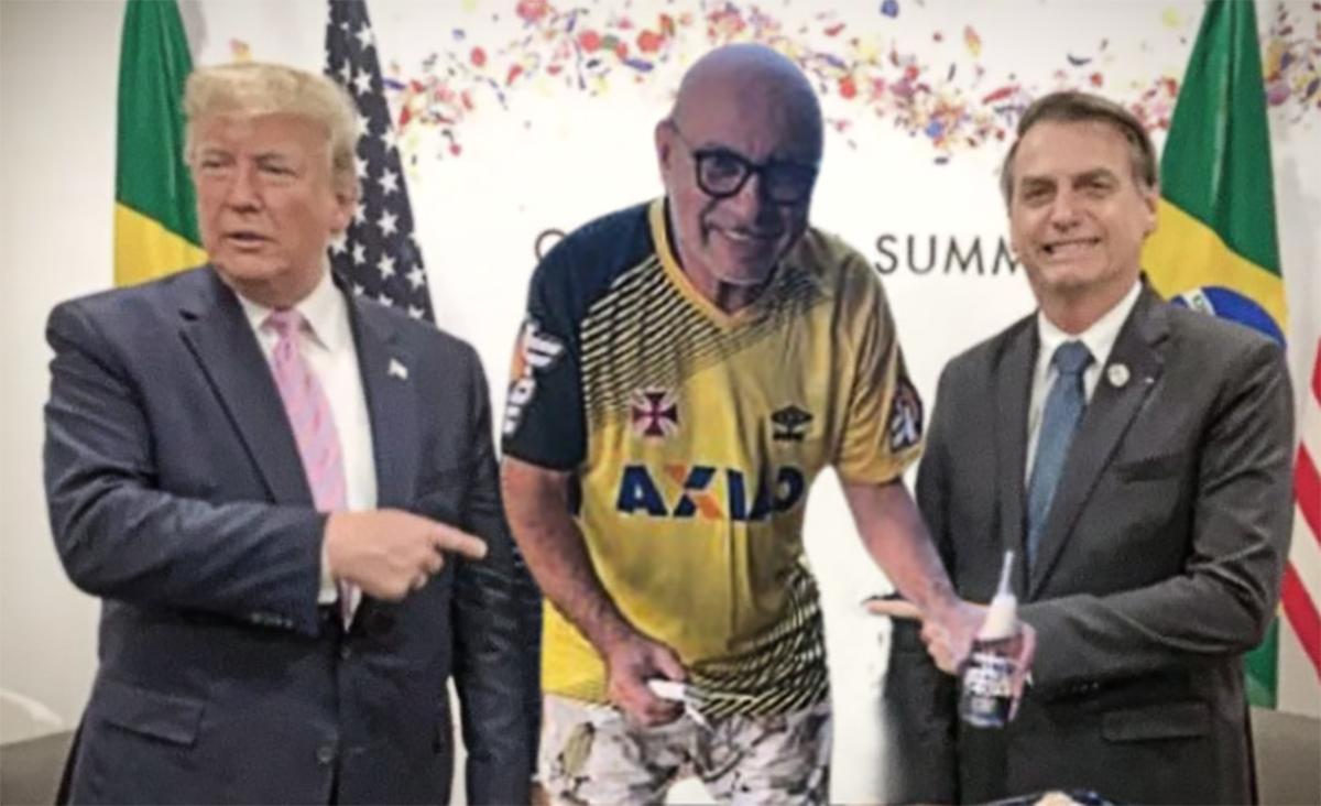 O Exército Brasileiro aproveitou para ver se Trump perdoa a instituição por ter mentido ao general Pazuello quando disse que ele era muito bom em logística