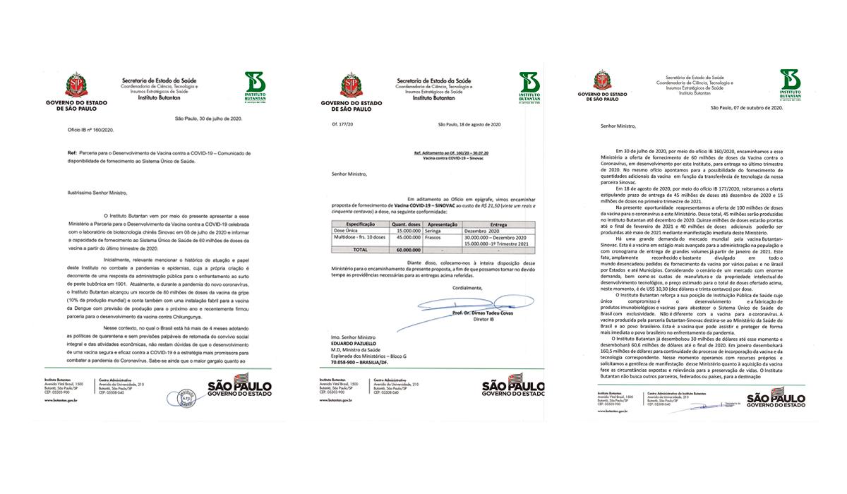 Bolsonaro recusou três ofertas de vacina